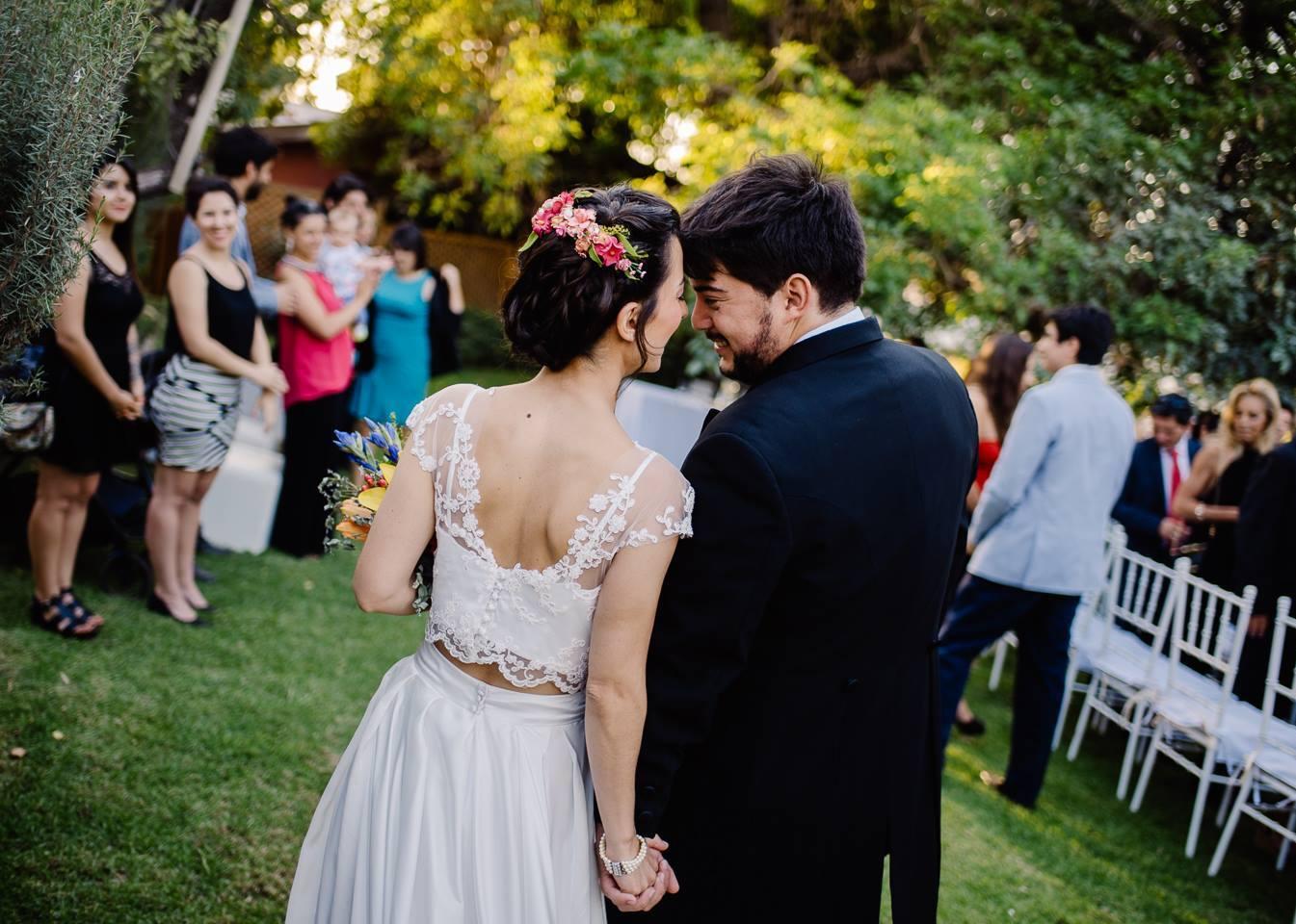 Peinados de novia Chile flores