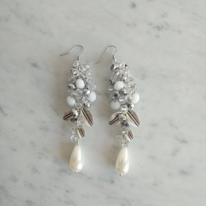 Aros de novia cristales